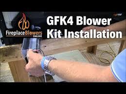 gfk4 gfk4a fireplace blower kit