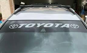 Toyota Window Decals Zeppy Io
