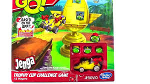 Angry Birds Go! Jenga Trophy Cup Challenge Game from Hasbro - 動画 ...