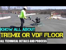 Tremix Flooring Concrete Procedure OR VDF Flooring (Vaccum ...