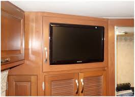 tv remodels for any rv space rv wood