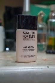 makeup forever mat velvet matifying