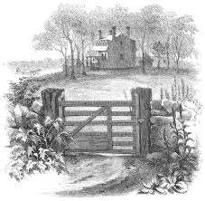 627 Old Farm Gate Illustrations Royalty Free Vector Graphics Clip Art Istock