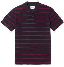 mens steven alan shirt polo navy slim