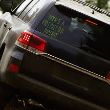 Honk If A Kid Falls Out Thanks Car Decal Family Car Decal Custom Car Decal Mom Life Car Deca On Luulla