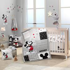 Disney Baby Magical Mickey Mouse Wall Decals Gray Red