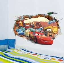 Disney Movie Cars Wall Stickers Boys Lightning Kids Bedroom Decor Decals For Sale Online Ebay