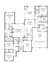 65 1st floor french country house plan