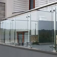 modern stainless steel barade fence