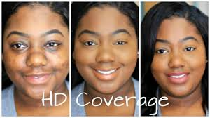 101 full coverage hd foundation routine