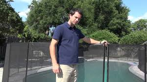 Installing A Pool Protection Fence System Youtube