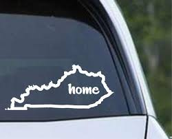 Kentucky Home State Outline Ky Bluegrass Usa America Die Cut Vinyl Decal Sticker Decals City