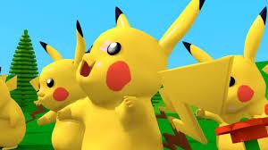 Pikachu nhảy vui nhộn // Pikachu song // Pikachu dance // Pokemon ...