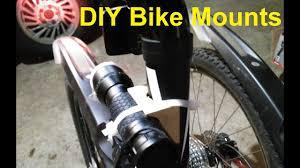 diy bike light mounts you