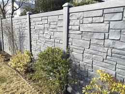 72 Black Vinyl Stone Fencing Fence Landscaping Backyard Fences Modern Fence