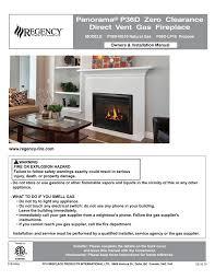 p36d um direct vent gas fireplace