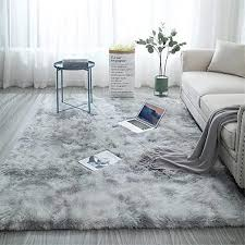 Amazon Com Shag Loomed Area Rug For Kids Play Room Warm Soft Faux Fur Luxury Rug Plush Throw Rugs High Pile Rug Handmade Knitted Nursery Decoration Rugs Baby Care Crawling Carpet Kitchen