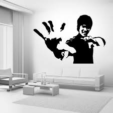 Home Decor Bruce Lee Decal Sticker Car Window Wall Laptop Door Room Sarathaarts Ac In