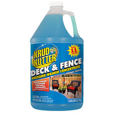 Deck Fence Pressure Washer Concentrate