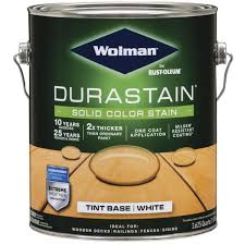 Wolman Durastain Solid Color Deck Siding Stain 1 Gal At Menards
