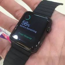 black stainless steel 42mm apple watch