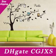 Diy Family Tree Wall Decor Home Family Decor Black Tree Removable Decal Room Family Tree Wall Stickers Vinyl Art Room Stickers For Kids Room Wall Decals From Highqualityok4 21 93 Dhgate Com