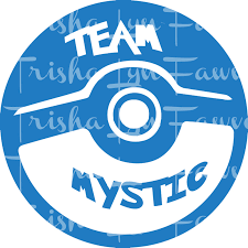Pokemon Go Team Mystic Blue Decal Sold By Trishalyn Gifts On Storenvy