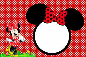 Minnie In Red Free Printables And Party Invitations Convite