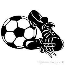 2020 12 7 9 8cm Creative Fashion Ball Shoe Goal Soccer Sports Vinyl Decal Car Sticker Black Silver Ca 1153 From Zhangchao188 0 34 Dhgate Com