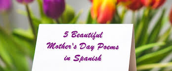 5 beautiful mother s day poems in spanish