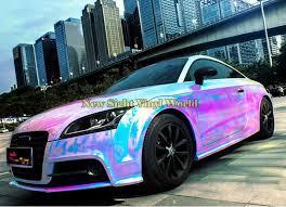 2020 Premium Pink Rainbow Chrome Vinyl Wrapping Film Rainbow Drift Vinyl Roll Bubble Free For Car Decal Size 1 35 18m From Newsight Vinyl World 415 57 Dhgate Com
