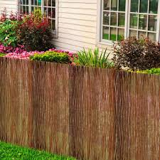 Vidaxl Willow Fence 300x120cm Wicker Garden Outdoor Backyard Fencing Panels For Sale Online Ebay