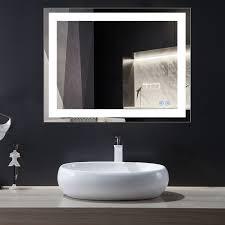 led vanity mirror bathroom mirrors
