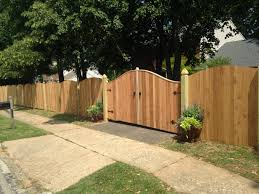 Wood Privacy Fence Mainstreet Fence
