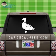 Duck Car Window Decal Window Sticker Hunting Decals