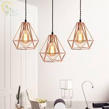 rose gold pendant lamps