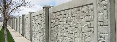 Sound Barrier Fence Stonetree Concrete Fence Systems