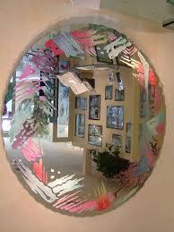 painted mirror by sans soucie art