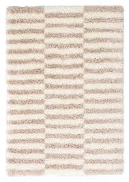 soraya stripes ivory beige area rug 5x8