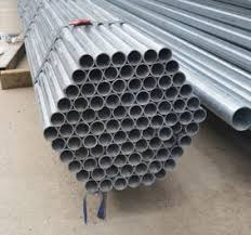 2400mm Galvanised Steel Pipe 40nb Chain Wire Posts