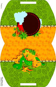 Fiesta De Dinosaurios Cajas Para Cumpleanos Para Imprimir Gratis