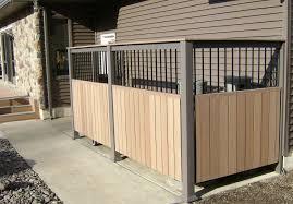 Custom Composite Privacy Fence Outdoor Storage Sheds Metal Fence Posts Pergola