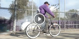 exploding airbag bait bike prank