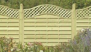 Omega Lattice Top Europanel Bingley Fencing And Timber Timber Fences Furniture Bradford West Yorkshire