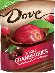 hiking trail mix with dove whole fruit