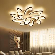 led acrylic ceiling lamp modern for