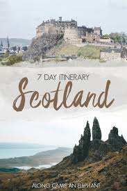 7 day road trip through scotland