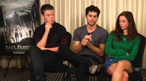 Watch: The Maze Runner cast interview for AMFM Magazine - Will Poulter Fan