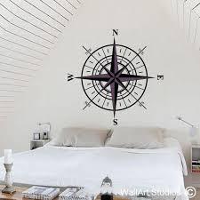 Compass Wall Art Decal Wall Art Studios