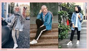 صور ملابس بنات محجبات كاجوال للجامعة للبنات الشيك موضة 2020